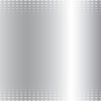 Abstract silver gradient metallic background