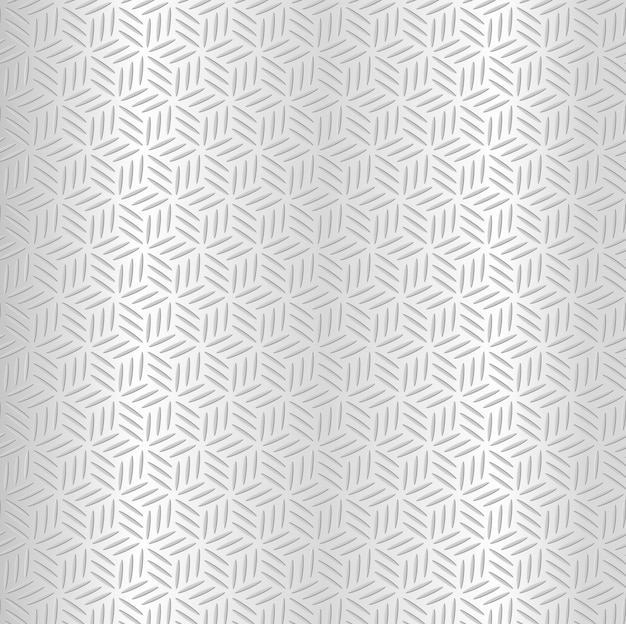 Abstract silver metallic seamless diamond pattern background