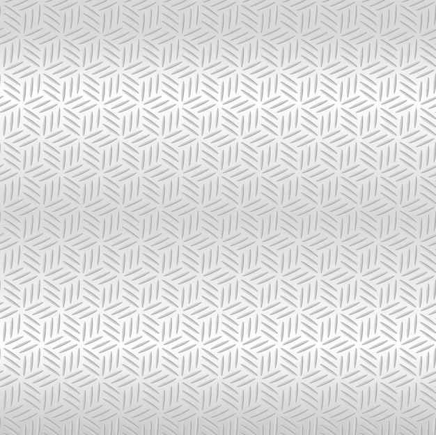 Abstract silver metallic seamless diamond pattern background