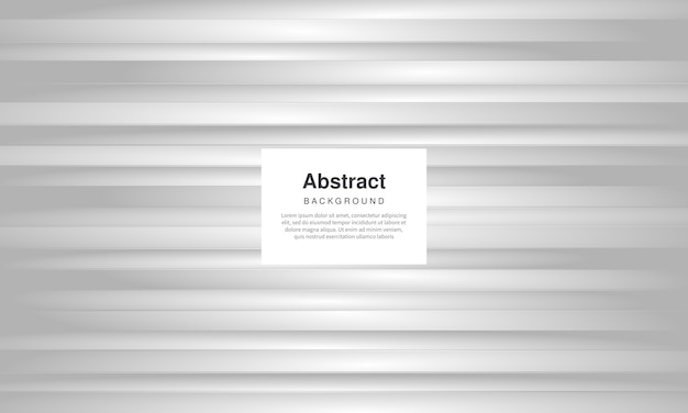 Абстрактный серебряный белый фон