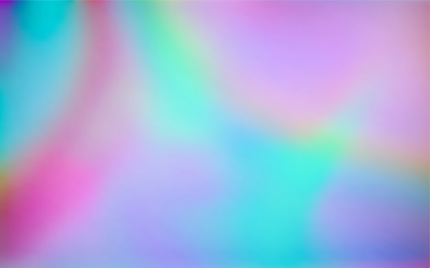 Abstract simple holographic colors gradient abstract background