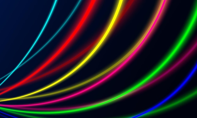 Абстрактный простой свет линии фона. векторная иллюстрация.