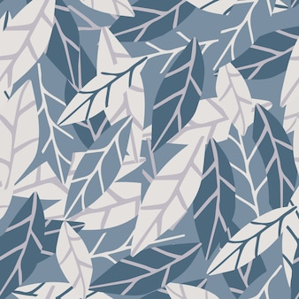 Abstract simple style leaves background