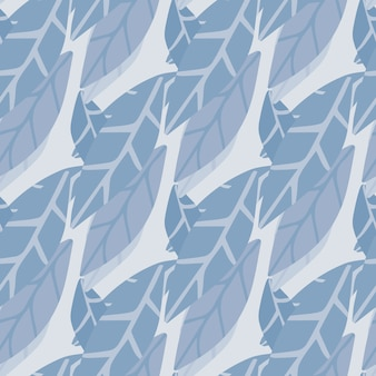 Abstract simple style leaves wallpaper.