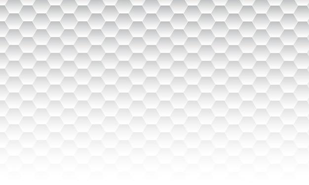 抽象的なシンプルな白い六角形の背景。壁紙のシンプルなデザイン。