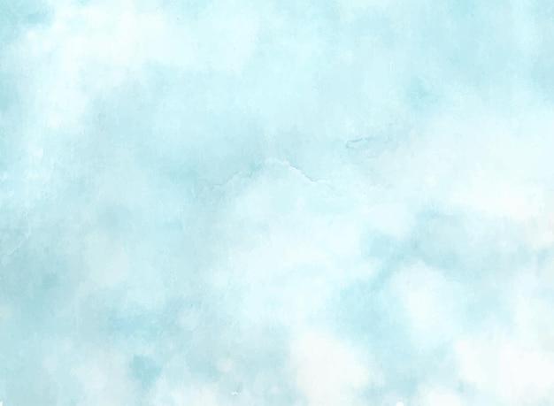 Абстрактный небесно-голубой акварель текстурированный фон