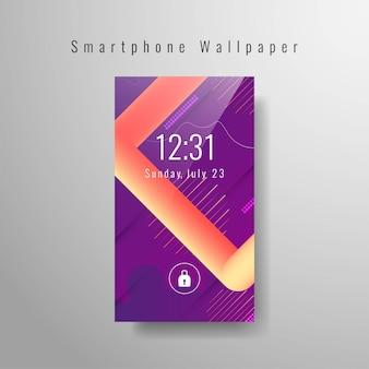 Abstract smartphone wallpaper trendy