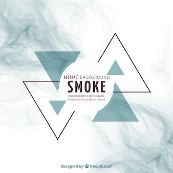 Abstract smoke background Premium Vector