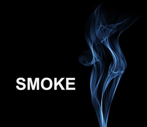 抽象的な煙の背景