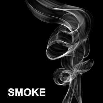 抽象的な煙の背景。