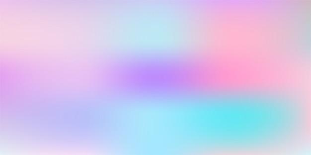 ぼやけた明るい色の効果の背景を持つ抽象的な滑らかなグラデーションメッシュ