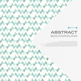Abstract of soft blue triangle pattern background.