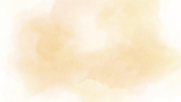 背景の抽象的な柔らかいオレンジ色の水彩画。