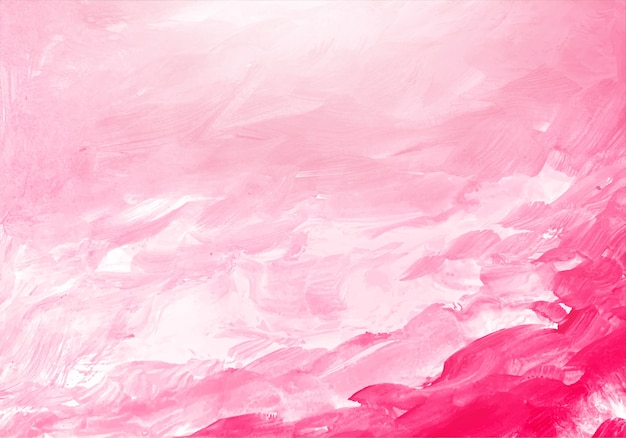Abstract soft pink watercolor texture