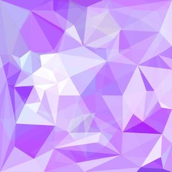 카드, 초대장, 포스터, 배너, 현수막 또는 빌보드 표지 디자인에 사용하기 위한 추상 부드러운 보라색 색 다각형 벡터 삼각형 기하학적 배경