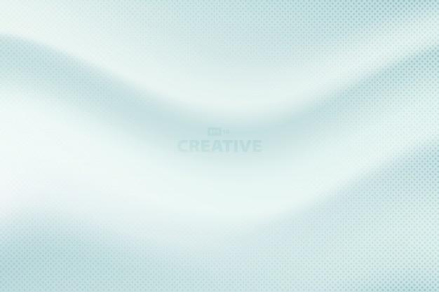 Абстрактный мягкий шелковый градиент синий фон.