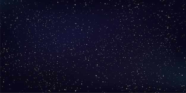 抽象的な空間の背景、深い宇宙の星とスターダスト。