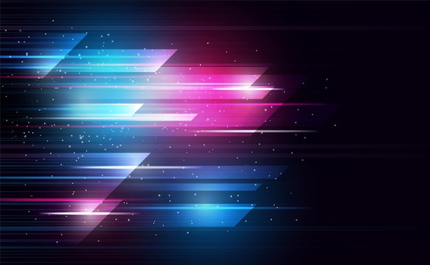 Abstract spectrum grid lighting lineabstract background  colorvector and illustration