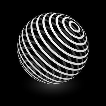 抽象球要素