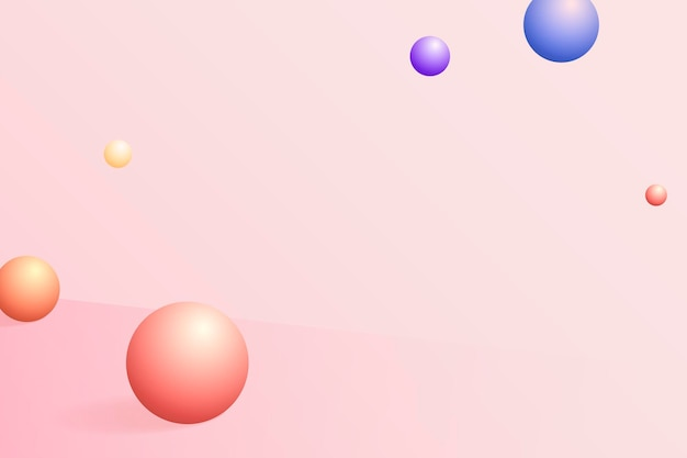 Abstract sphere patterned background