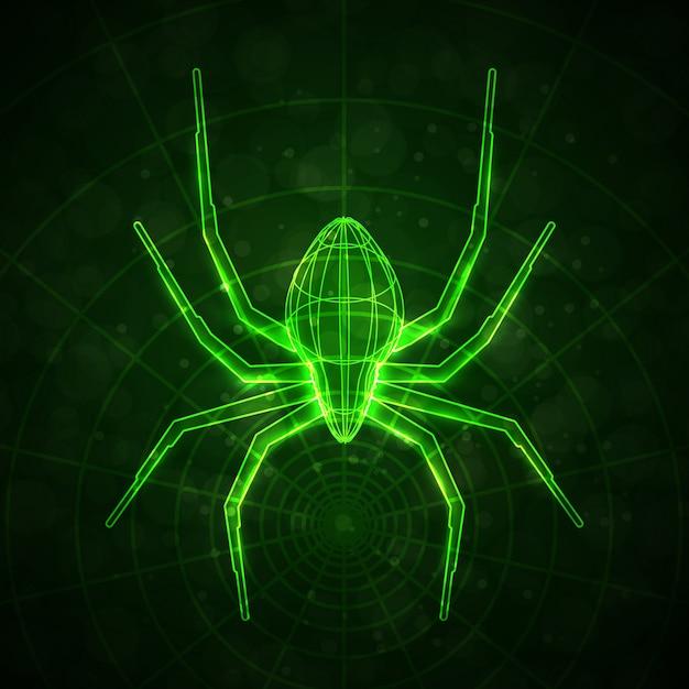 Абстрактный паук
