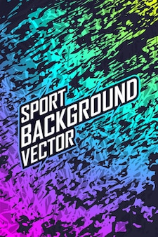 Abstract sport background pattern