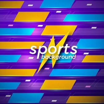 Abstract sports vector background