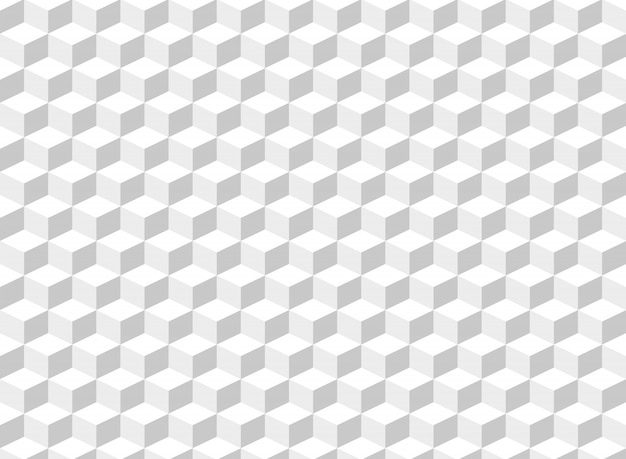 Abstract of square cube pattern background.