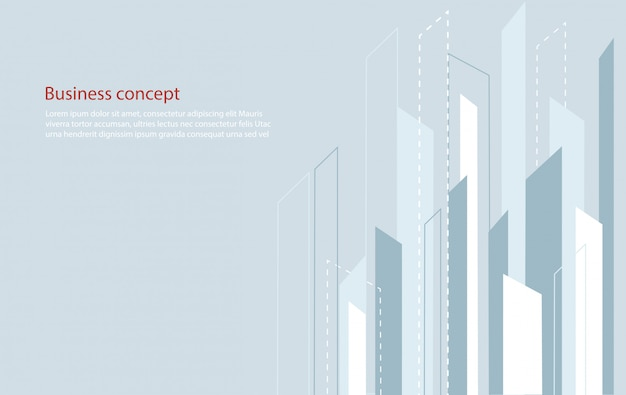 Abstract square line background and space for write vector