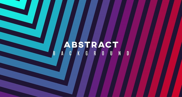 Abstract square shape background