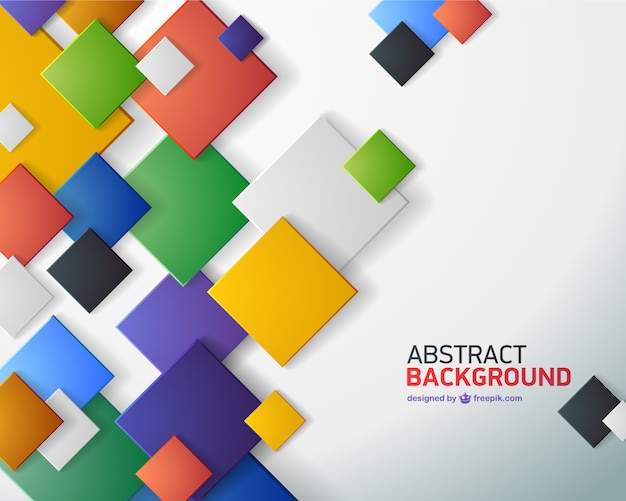 Abstract squares background images