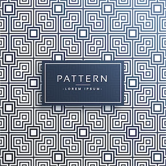 Abstract squares line pattern background