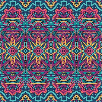 Abstract star ethnic pattern for fabric.