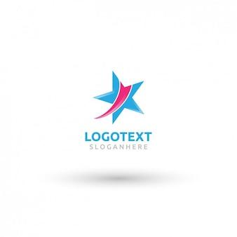 Abstract star logo