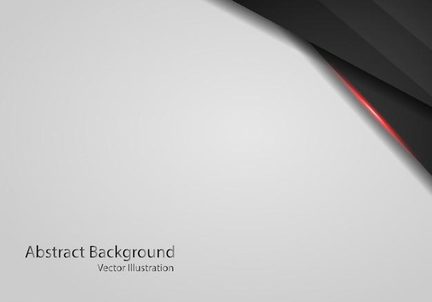 抽象的な鋼のテクスチャ白い背景の上の濃い黒と赤のメタリックフレーム。