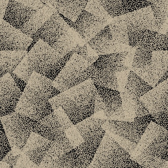Abstract stippled seamless pattern background