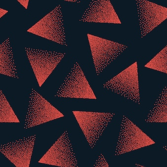 Абстрактный пунктирная бесшовные модели