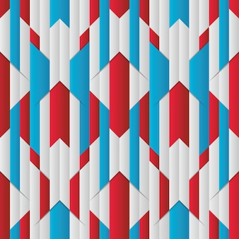 Abstract stripe seamless pattern