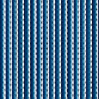 抽象ストライプニットパターン