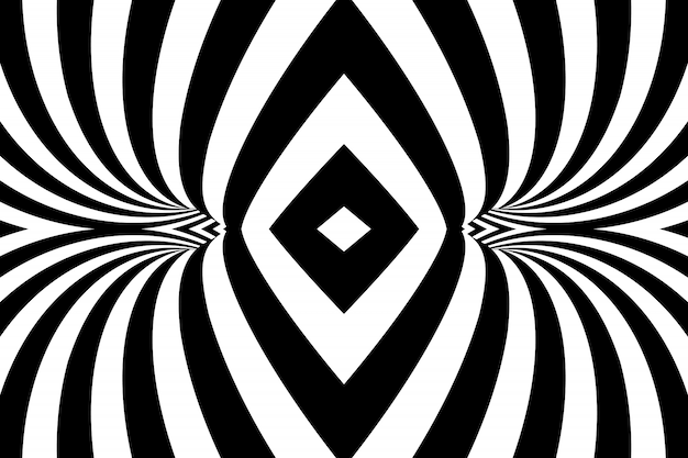 Abstract striped spiral background