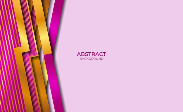 Abstract style gold and purple background