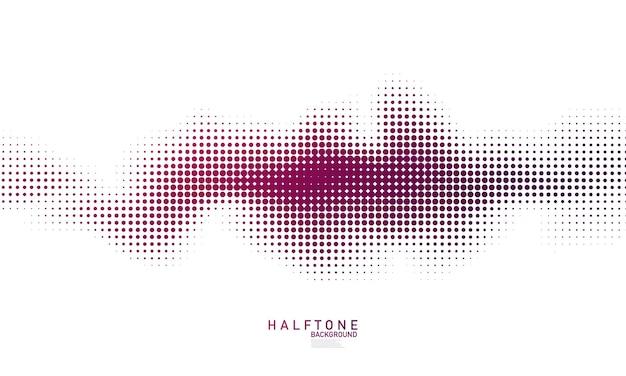 Концепция полутонов в абстрактном стиле для вашего графического дизайна