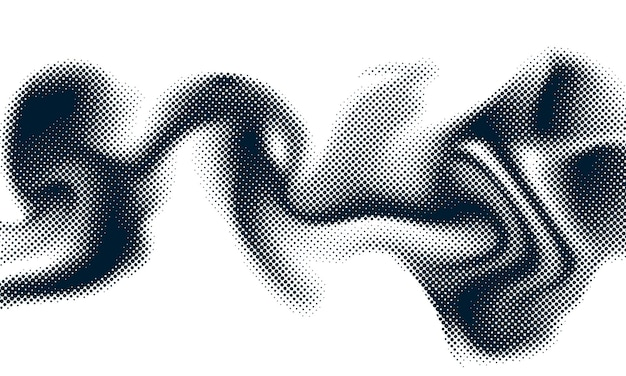 Abstract style halftone concept for your graphic design