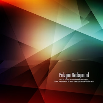 Abstract stylish colorful geometric background