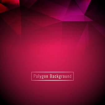 Abstract stylish colorful geometric polygon background