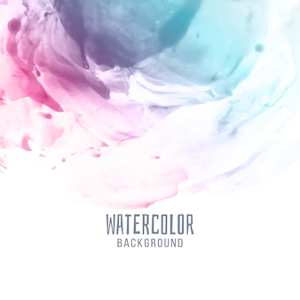 抽象的なスタイリッシュなカラフルな水彩画の背景