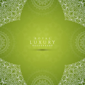 Abstract stylish luxury green background