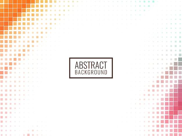 Abstract stylish mosaic background
