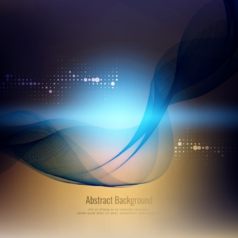 Abstract stylish wave background