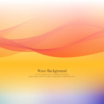 Abstract stylish wave design soft background